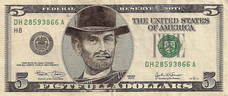 This Artist Transforms US Banknotes Into Hilarious Portraits