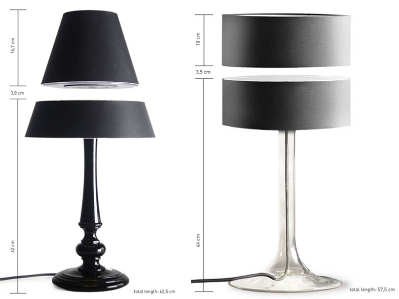 Luxury floating table desk lamp magnets Floating Table Lamps are Awesome