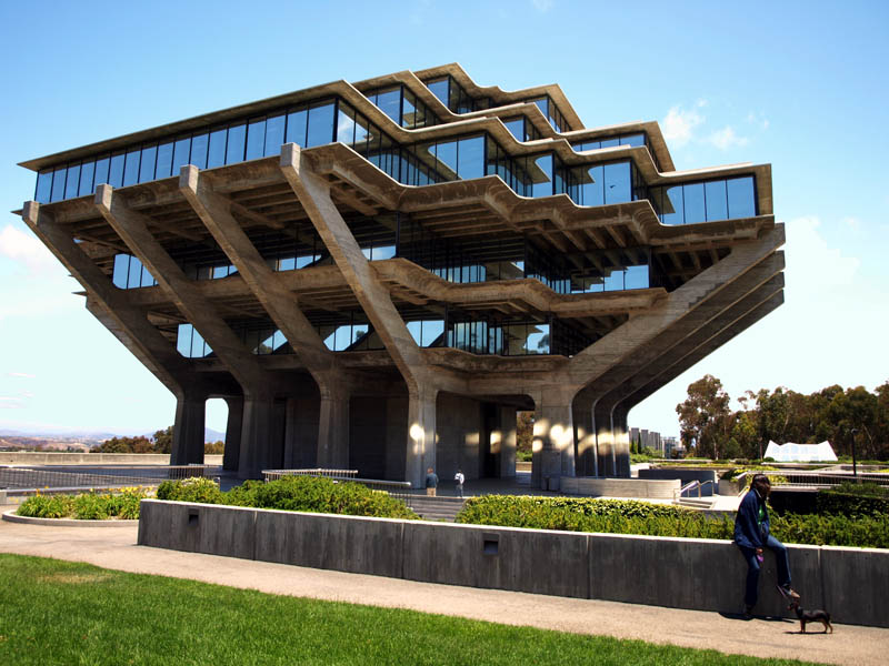 geisel library ucsd 15 Beautiful Libraries Around the World