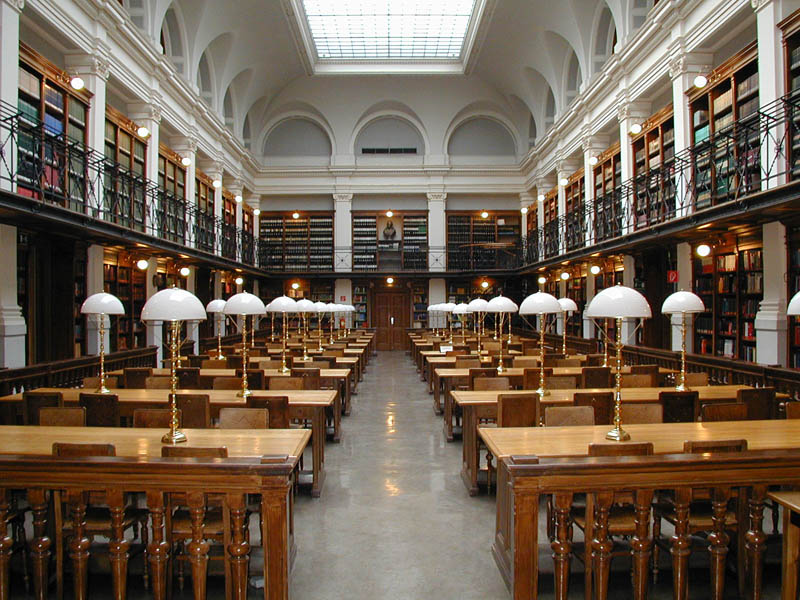 graz university library reading room 15 Beautiful Libraries Around the World