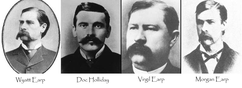 gunifght at the ok corral wyatt earp doc holliday This Day In History   October 26th