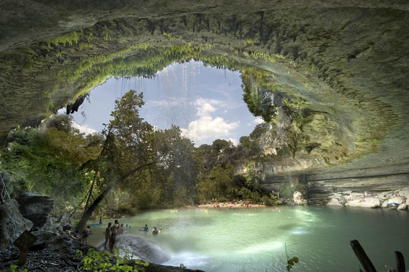 hamilton pool nature preserve texas Picture of the Day: The Hamilton Pool Nature Preserve in Texas