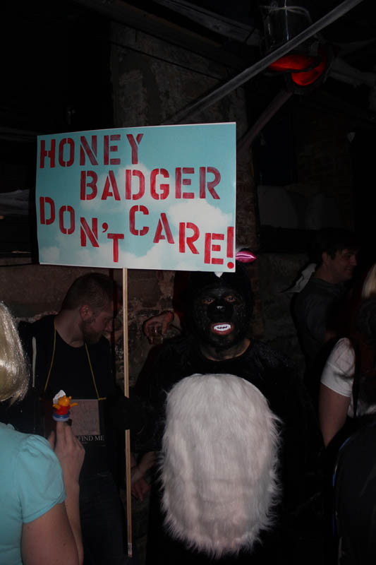 honey badger hilarious halloween costume 25 Hilarious Halloween Costumes from the Weekend