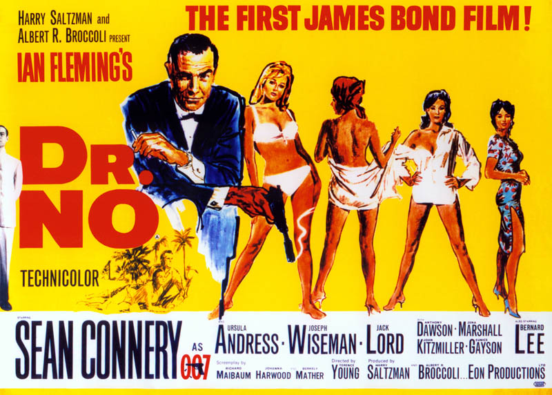 james bond dr no movie poster This Day In History   October 5th