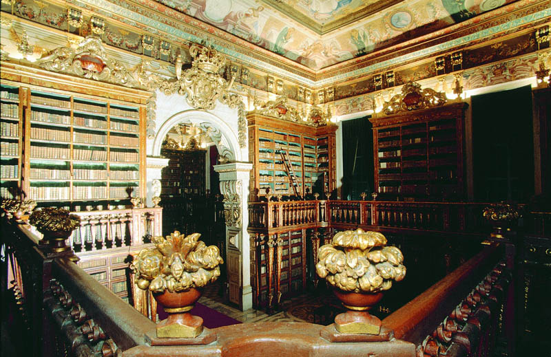 joanina library university of coimbra 2 15 Beautiful Libraries Around the World
