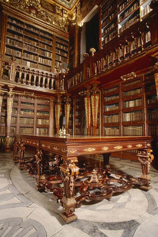 joanina library university of coimbra 3 15 Beautiful Libraries Around the World
