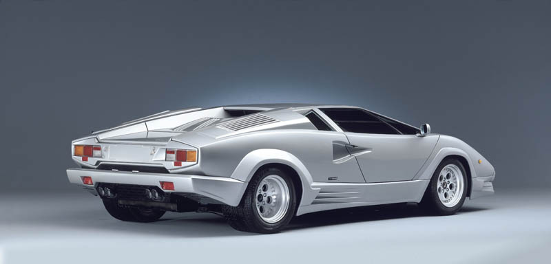lamborghini countach 25th anniversary 1988 4 The Legendary Lamborghini Countach