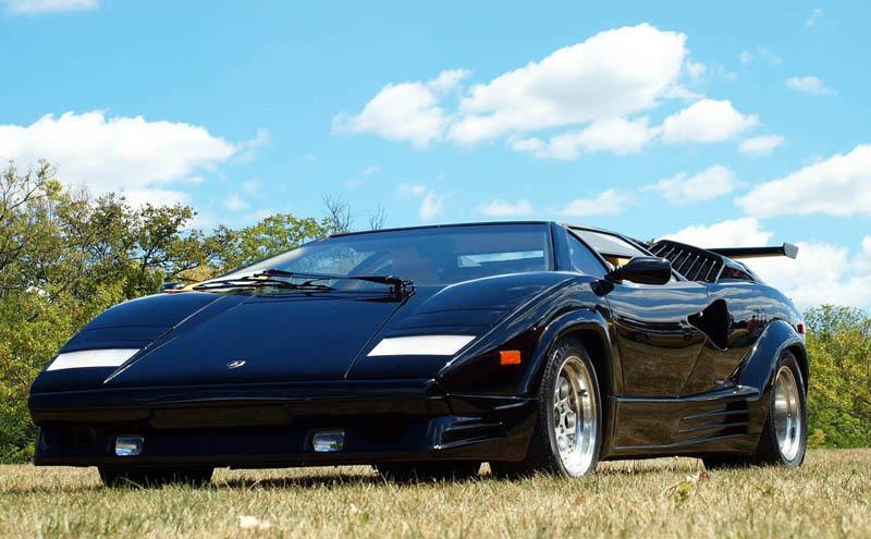 Lamborghini Countach 25th Anniversary 1988 Black 3 The Legendary Lamborghini  Countach