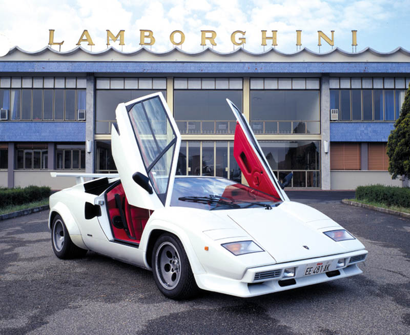 The Legendary Lamborghini Countach
