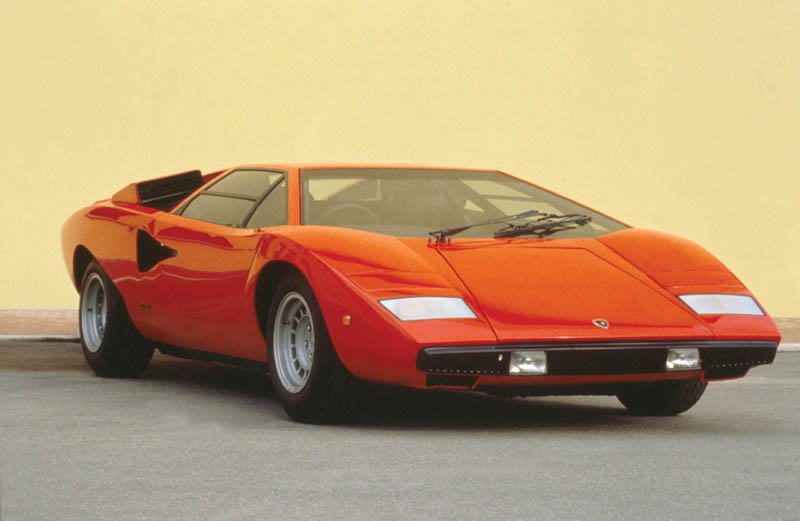 The Legendary Lamborghini Countach Twistedsifter