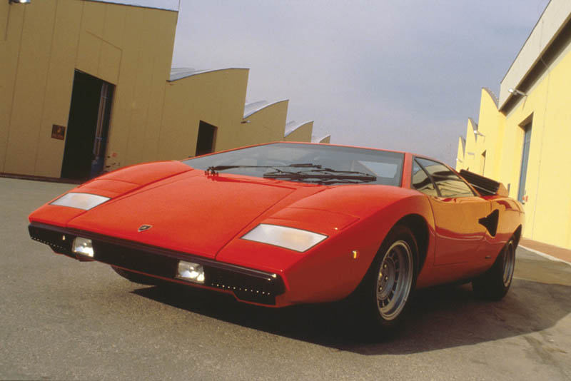 lamborghini countach lp 400 1973 1981 4 The Legendary Lamborghini Countach