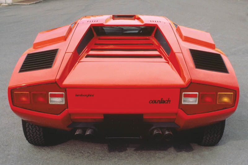 lamborghini countach lp 400 1973 1981 6 The Legendary Lamborghini Countach