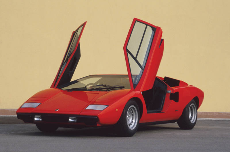 lamborghini countach lp 400 1973 1981 7 The Legendary Lamborghini Countach