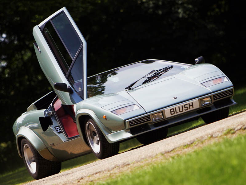 lamborghini countach lp 500s The Legendary Lamborghini Countach