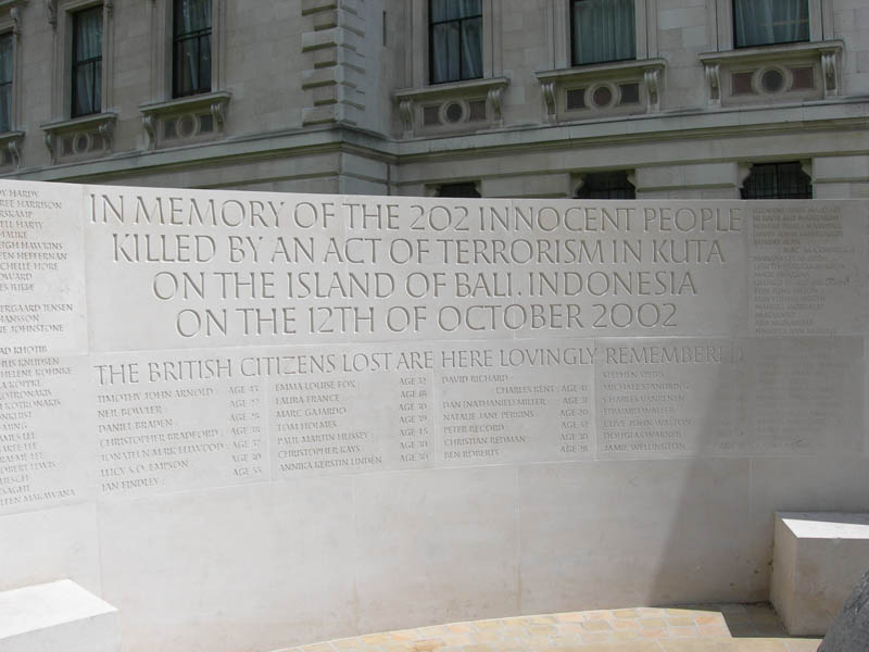 london bali monument This Day In History   October 12th
