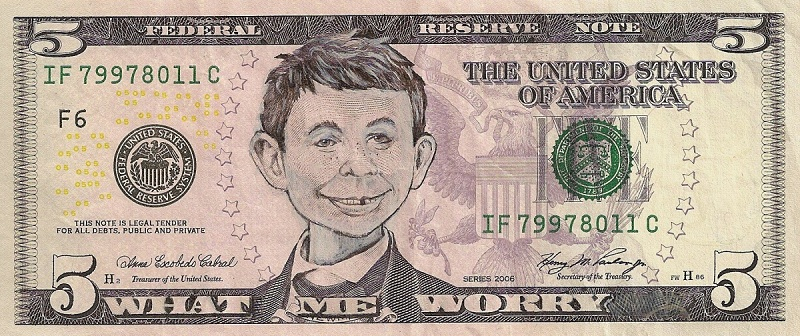mad newman dollar bill currency cash art This Artist Transforms US Banknotes Into Hilarious Portraits
