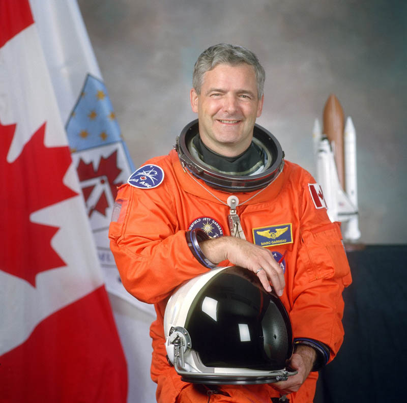 marc garneau first canadian in space This Day In History   October 5th