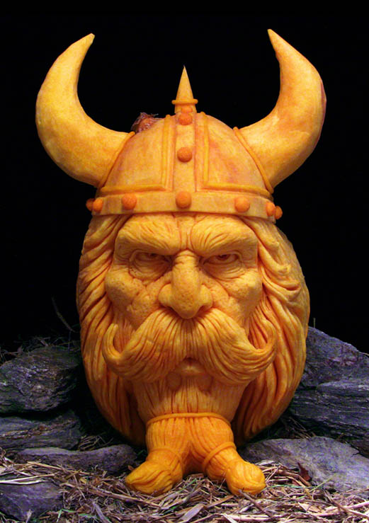 Jaw dropping pumpkin carvings by ray villafane «twistedsifter