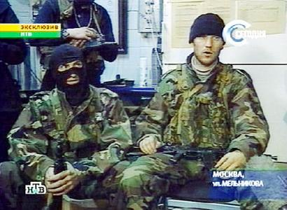 mosvar barayev chechen leader moscow theater hostage This Day In History   October 26th