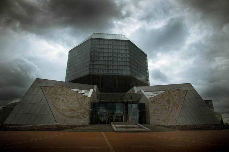 national library of belarus exterior 15 Beautiful Libraries Around the World