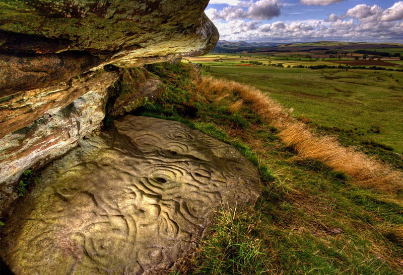 Picture of the Day: 5000 Year Old Neolithic Stone Carving inNorthumberland