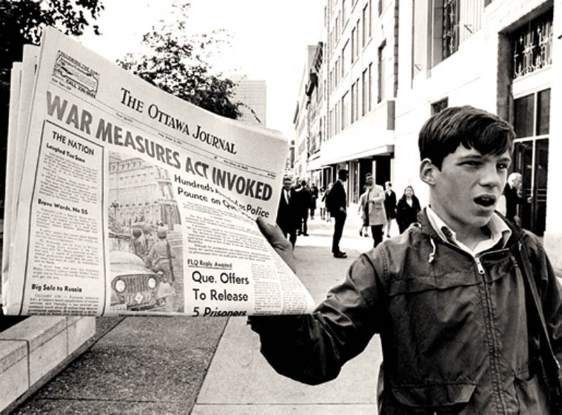 october crisis canada flq war measure act 1970 This Day In History   October 5th
