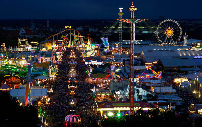oktoberfest at night This Day In History   October 12th