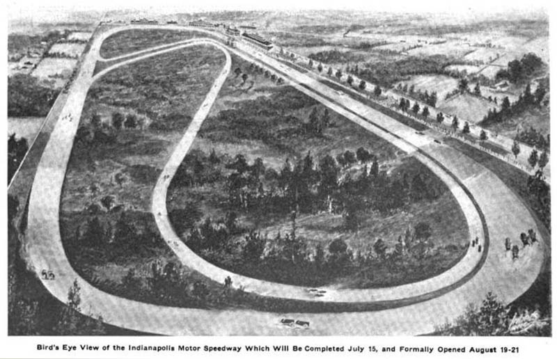 original indianapolis motor speedway 1909 before grand opening This Day In History   October 19th
