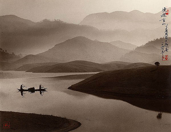 photographs that look like traditional chinese paintins dong hong oai asian pictorialism 12 Photos Made to Look Like Traditional Chinese Paintings