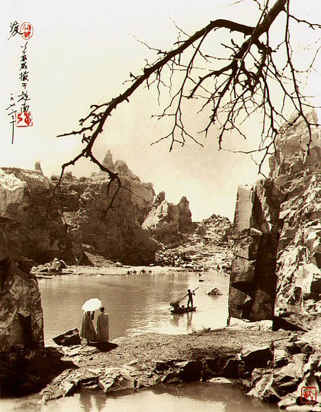 photographs that look like traditional chinese paintins dong hong oai asian pictorialism 17 Photos Made to Look Like Traditional Chinese Paintings