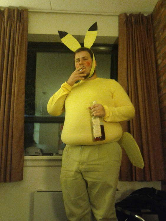 pikachu hilarious halloween costume 25 Hilarious Halloween Costumes from the Weekend