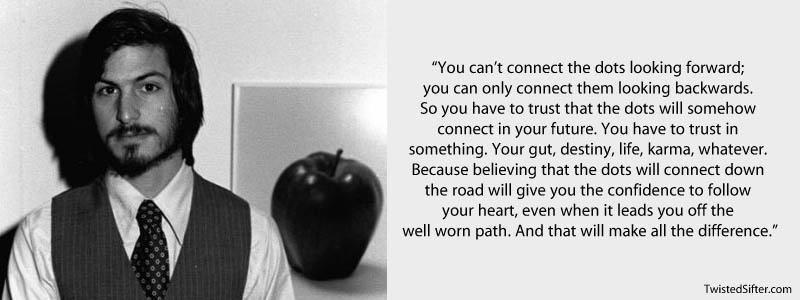 Steve Jobs Quotes Dots