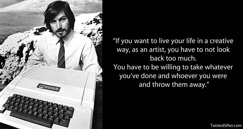 steve jobs creativity quote 20 Most Inspirational Quotes by Steve Jobs