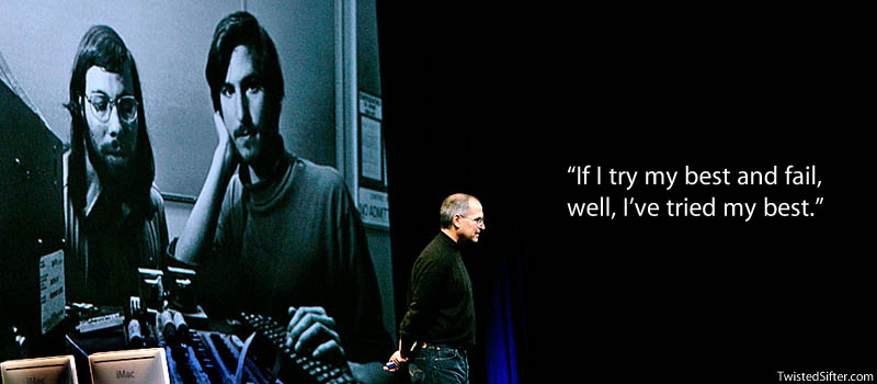 steve jobs failure quote 20 Most Inspirational Quotes by Steve Jobs