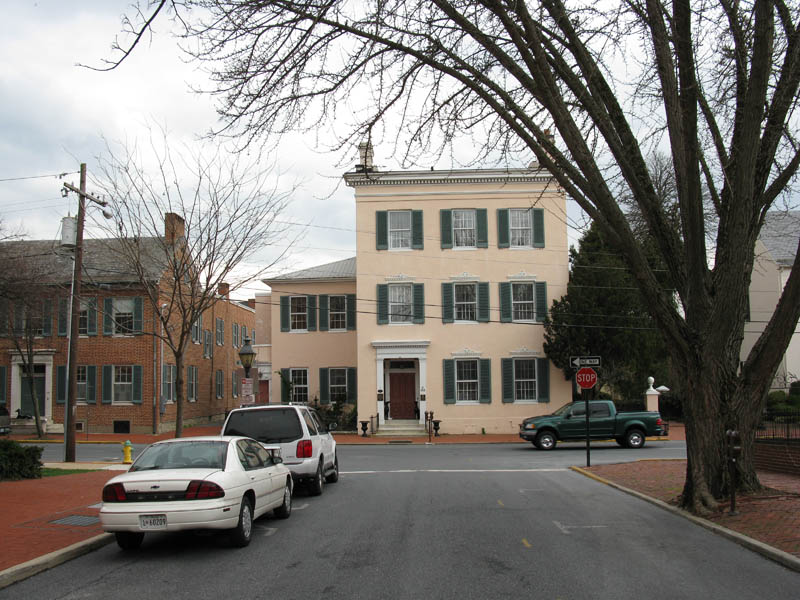 the tyler spite house at 112 church street opposite record street frederick md 8 Homes Built Out of Spite