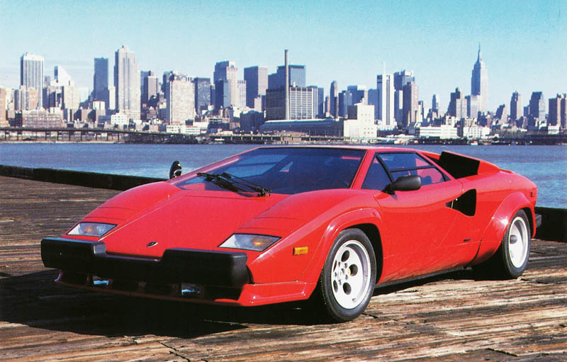 us american lamborghini countach with bumper 5000 qv The Legendary Lamborghini Countach
