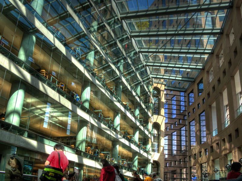 vancouver public library interior 2 15 Beautiful Libraries Around the World