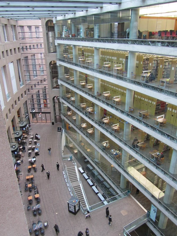 vancouver public library interior 15 Beautiful Libraries Around the World