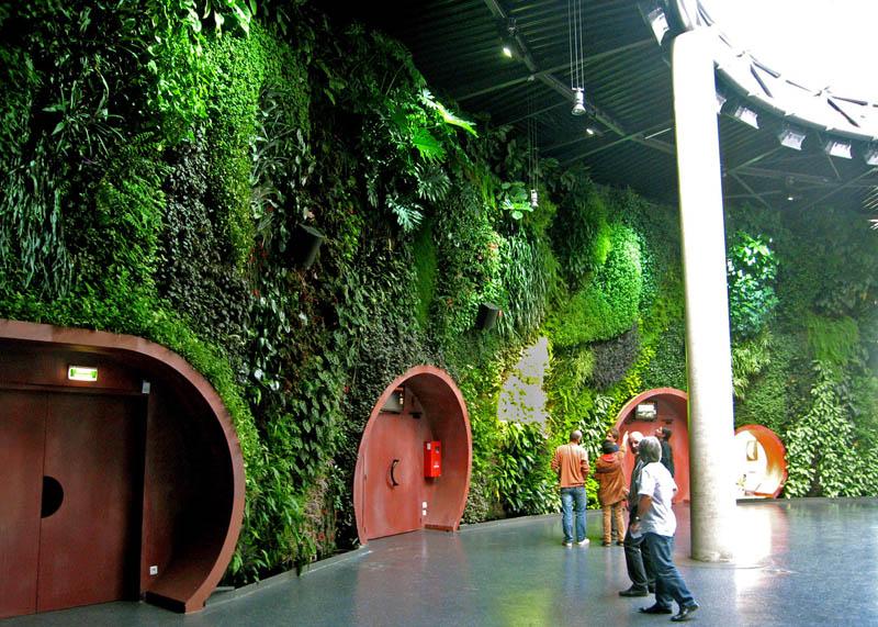 Vertical Wall Garden Astralia Cite De L Espace Toulouse 1 15 Incredible Vertical  Gardens Around The