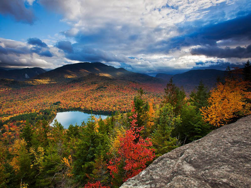 autumn fall colors in the adirondacks Picture of the Day: Autumn in the Adirondacks