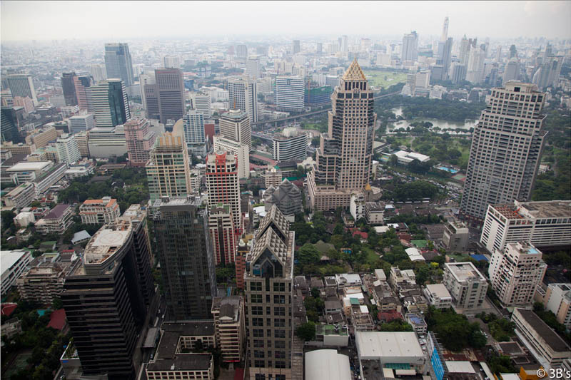 bangkok skyline aerial from above Top 25 Cities in the World with the Most High Rise Buildings
