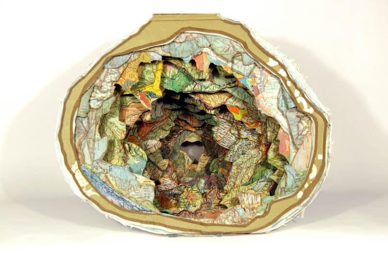 book art carving sculpture brian dettmer 1 Intricate Book Art Carvings by Brian Dettmer
