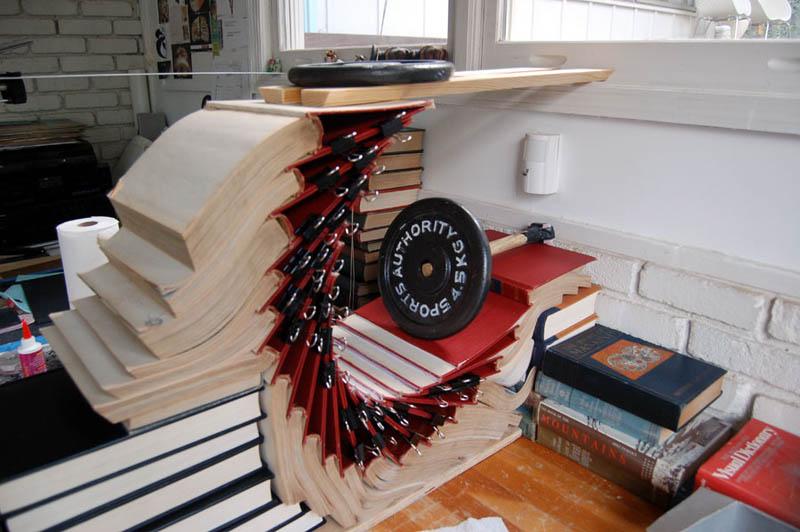 book art carving sculpture brian dettmer 18 Intricate Book Art Carvings by Brian Dettmer