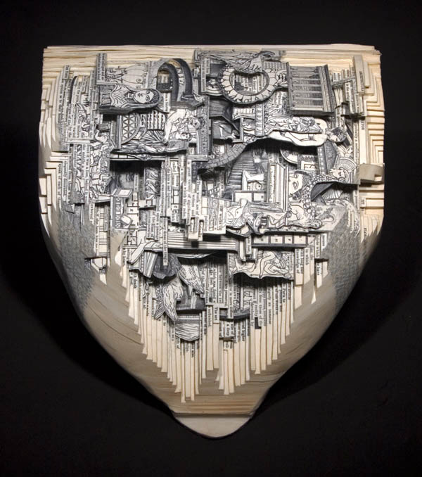 book art carving sculpture brian dettmer 20 Intricate Book Art Carvings by Brian Dettmer