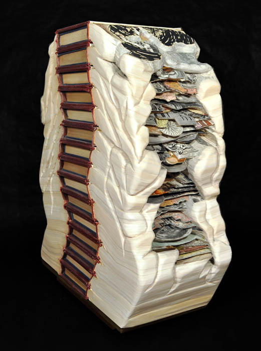 book art carving sculpture brian dettmer 21 Intricate Book Art Carvings by Brian Dettmer