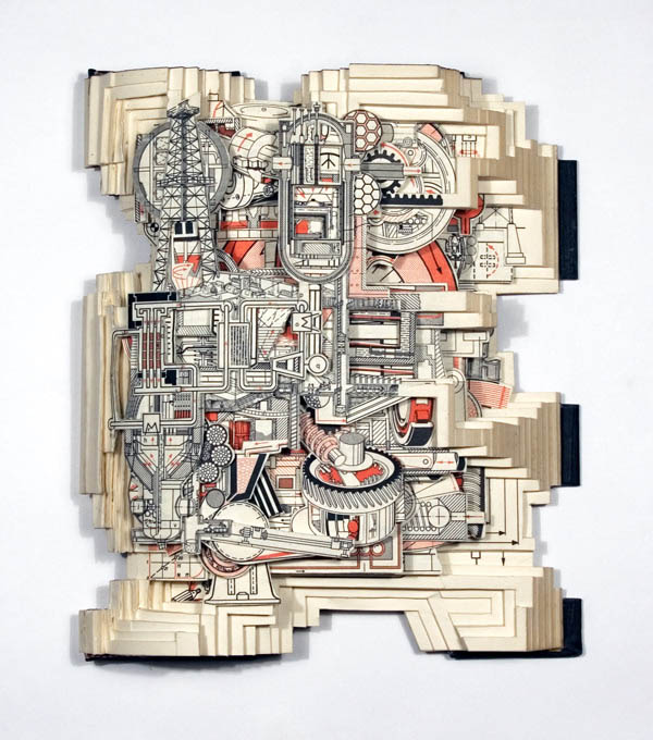 book art carving sculpture brian dettmer 22 Intricate Book Art Carvings by Brian Dettmer