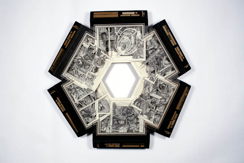 book art carving sculpture brian dettmer 26 Intricate Book Art Carvings by Brian Dettmer