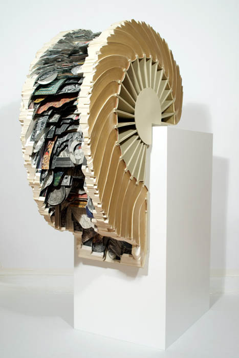 book art carving sculpture brian dettmer 28 Intricate Book Art Carvings by Brian Dettmer