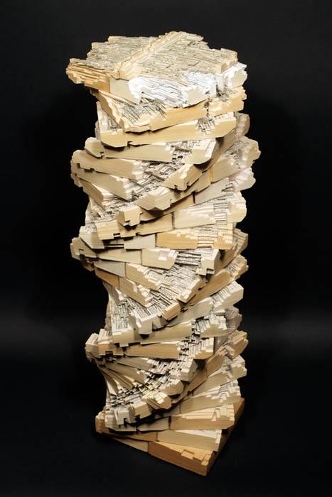 book art carving sculpture brian dettmer 29 Intricate Book Art Carvings by Brian Dettmer