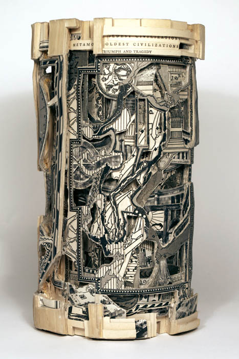 book art carving sculpture brian dettmer 30 Intricate Book Art Carvings by Brian Dettmer